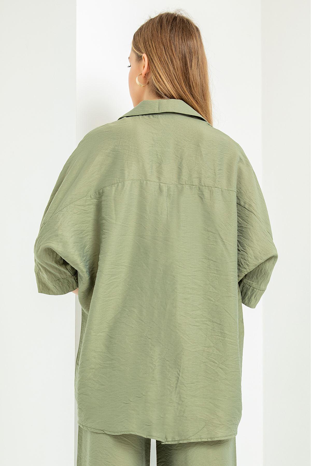 Salaş Aerobin Gömlek-Haki