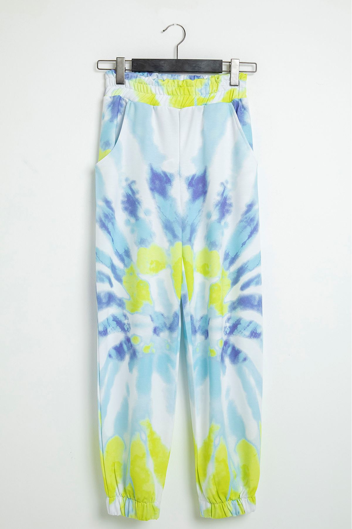 Batik Desen Eşofman-Mavi