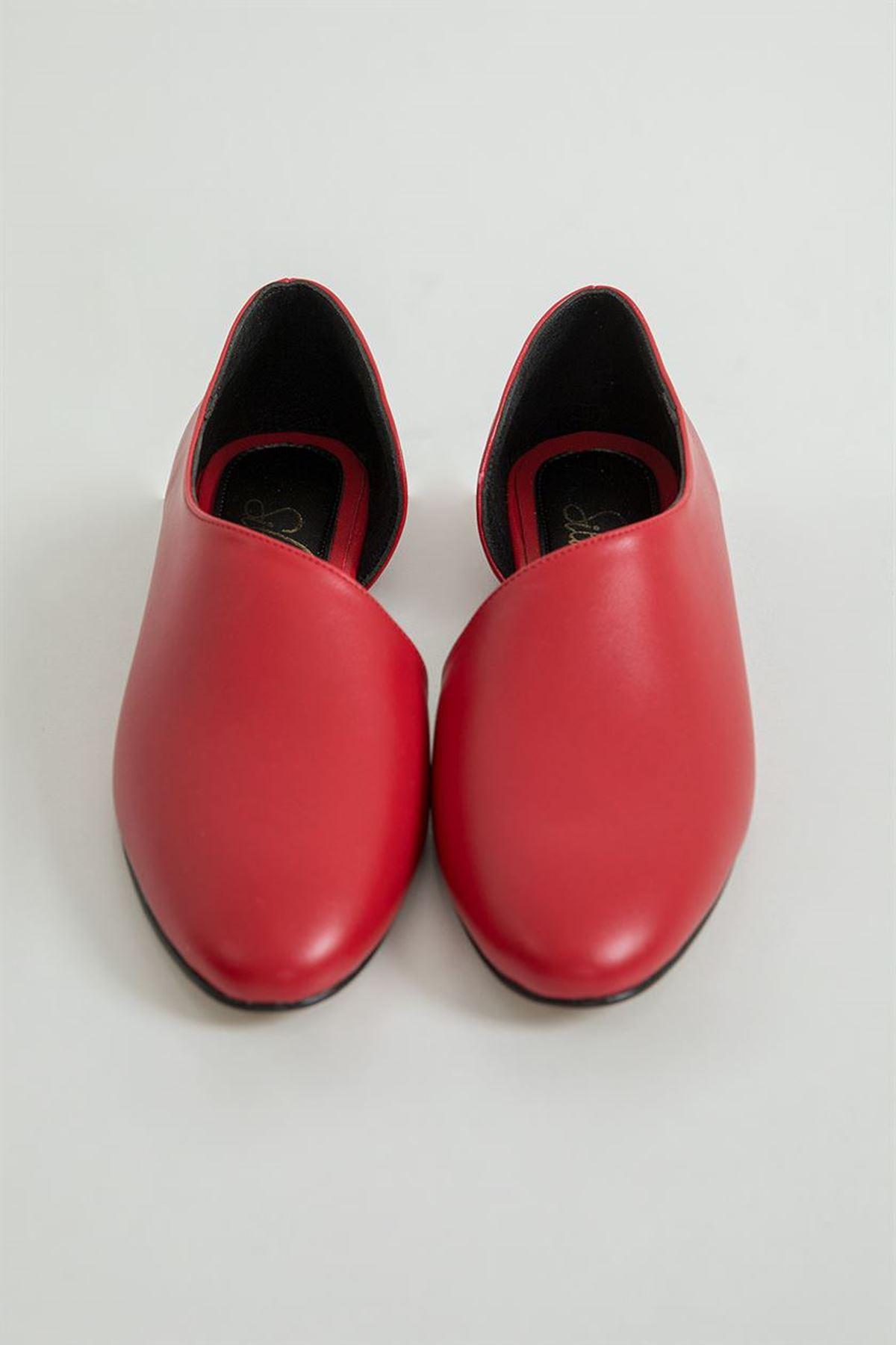Yan Detay Babet-Kırmızı