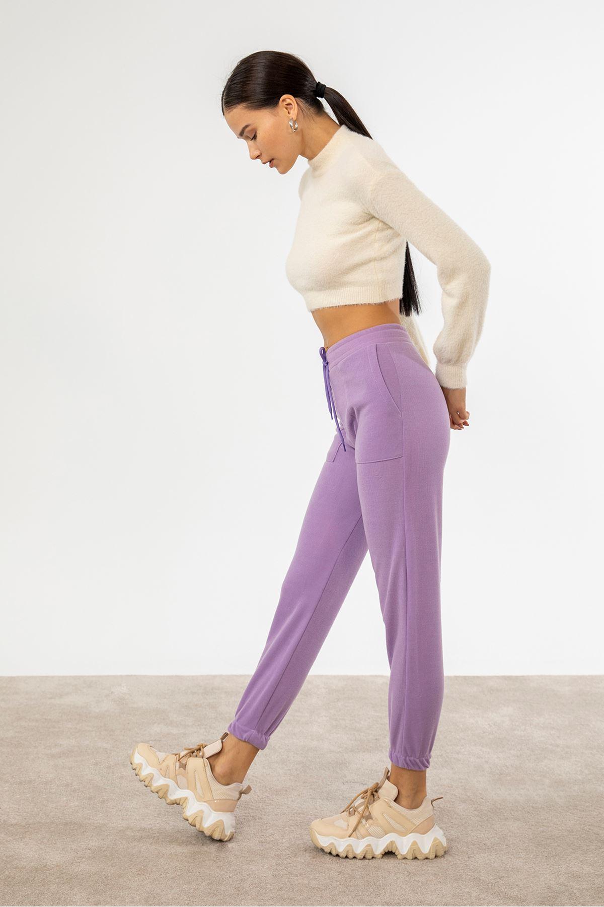 Cepli Pantolon-Lila