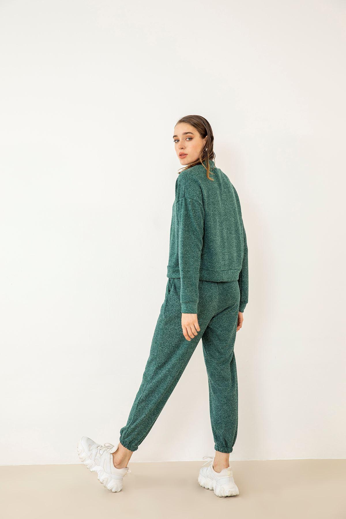 Salaş Eşofman Takım-Yeşil