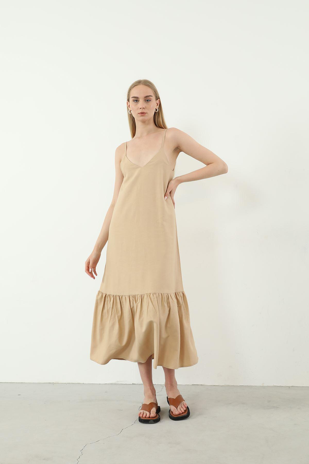 Askılı Elbise-Vizon