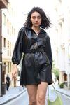 Deri Elbise-Siyah